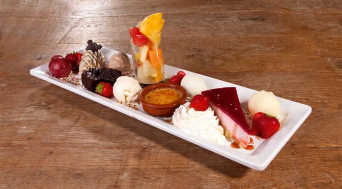 Vrijgezellenfeest-dessert